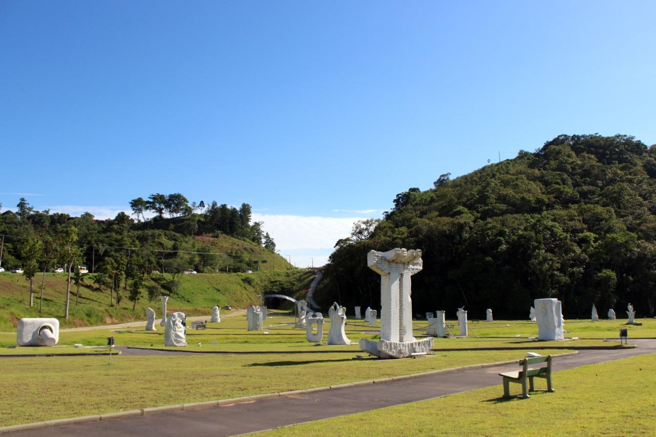 Parque das Esculturas reabre nesta quinta-feira (18)