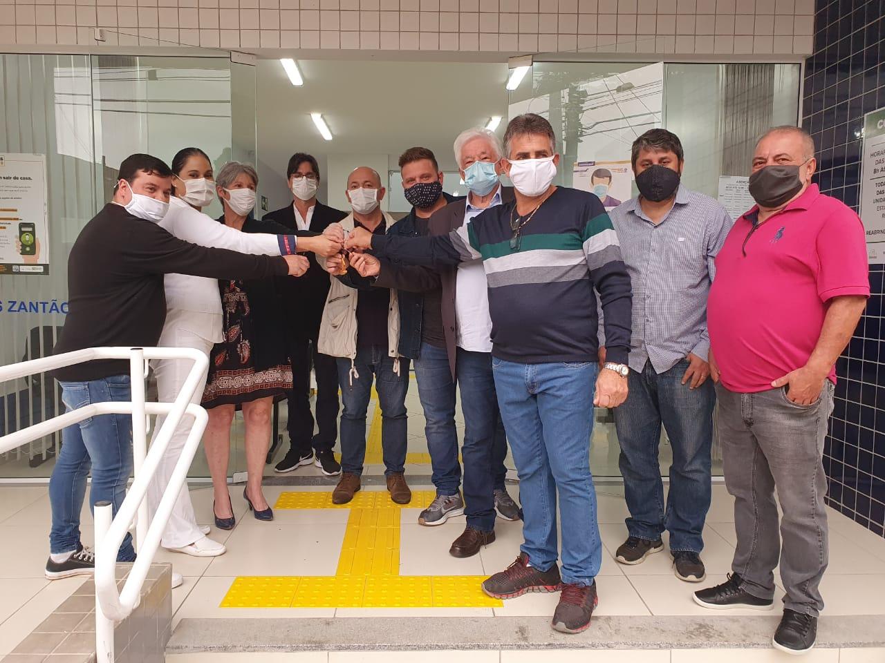Prefeitura realiza entrega da Unidade Básica de Saúde do Zantão