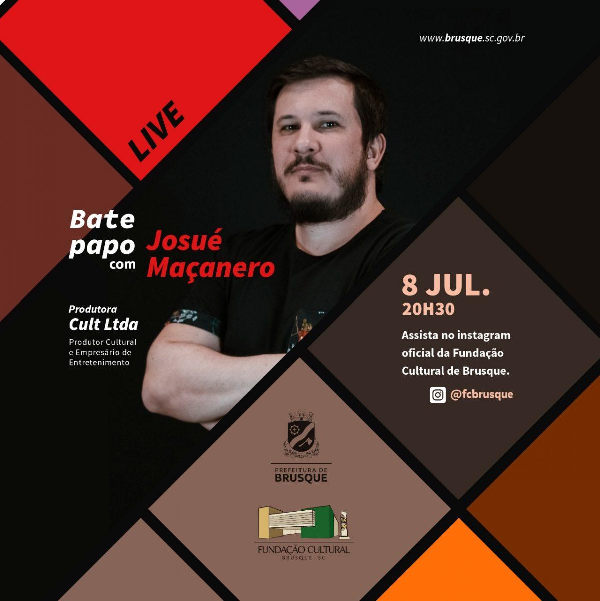 Fundação realiza live com empreendedor cultural do município