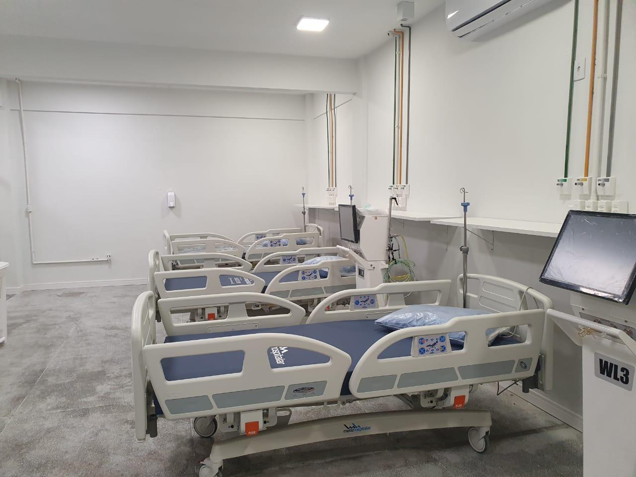 Hospital Azambuja tem dez leitos de UTI para COVID-19 credenciados