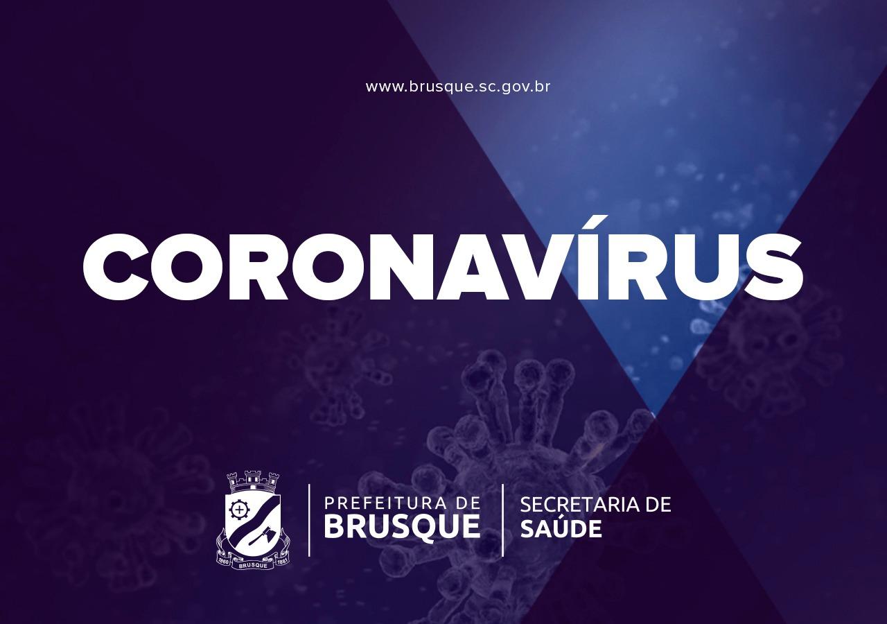 Brusque registra novos óbitos por Covid-19