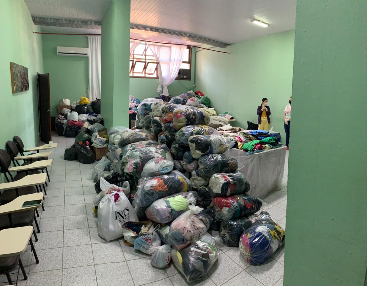 Secretaria de Assistência Social inicia doação de roupas da Campanha do Agasalho na próxima segunda-feira (27)