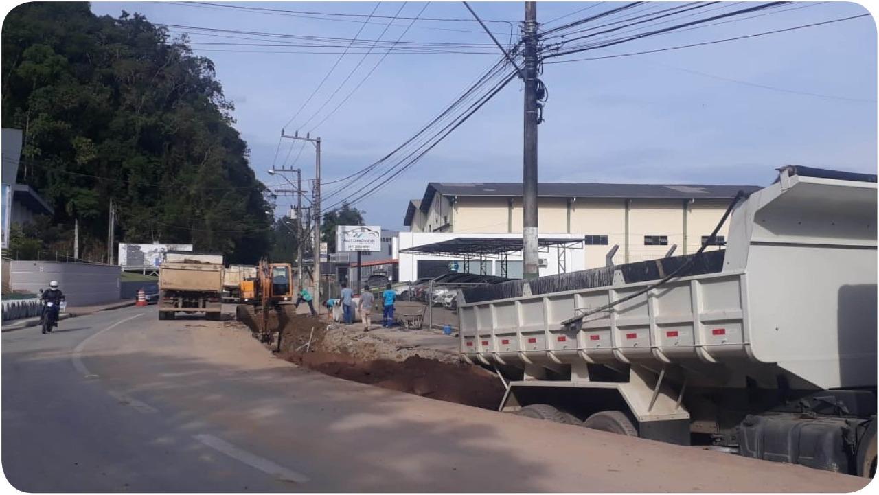 Rua General Osório recebe recapeamento asfáltico