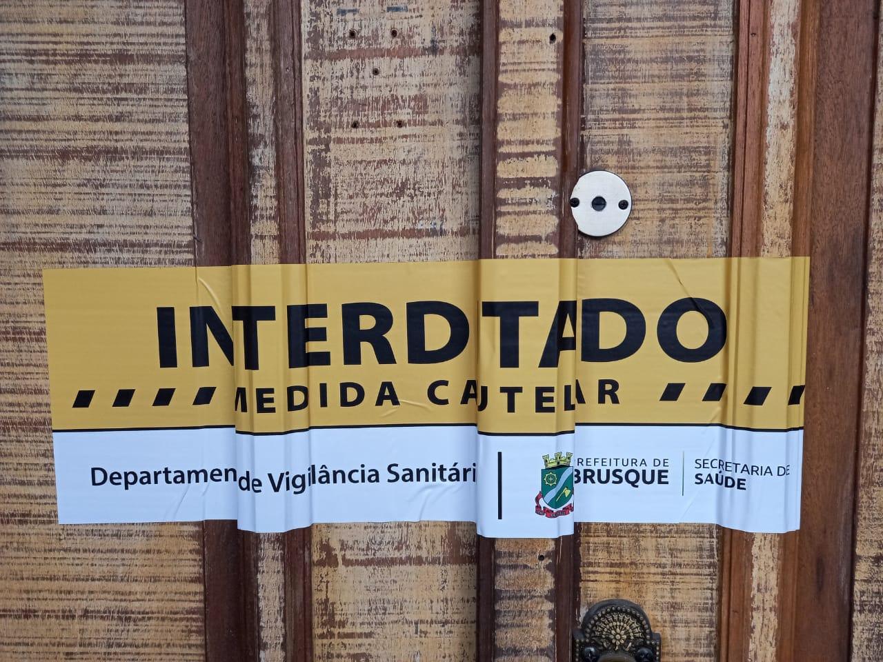 Covid-19: Prefeitura interdita estabelecimento por sete dias