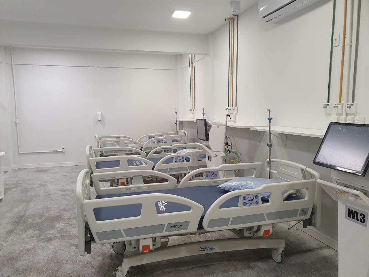 Covid-19: Ministério da Saúde prorroga credenciamento de 10 leitos UTI