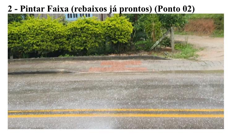 Faixas de pedestre serão pintadas na rua São Pedro
