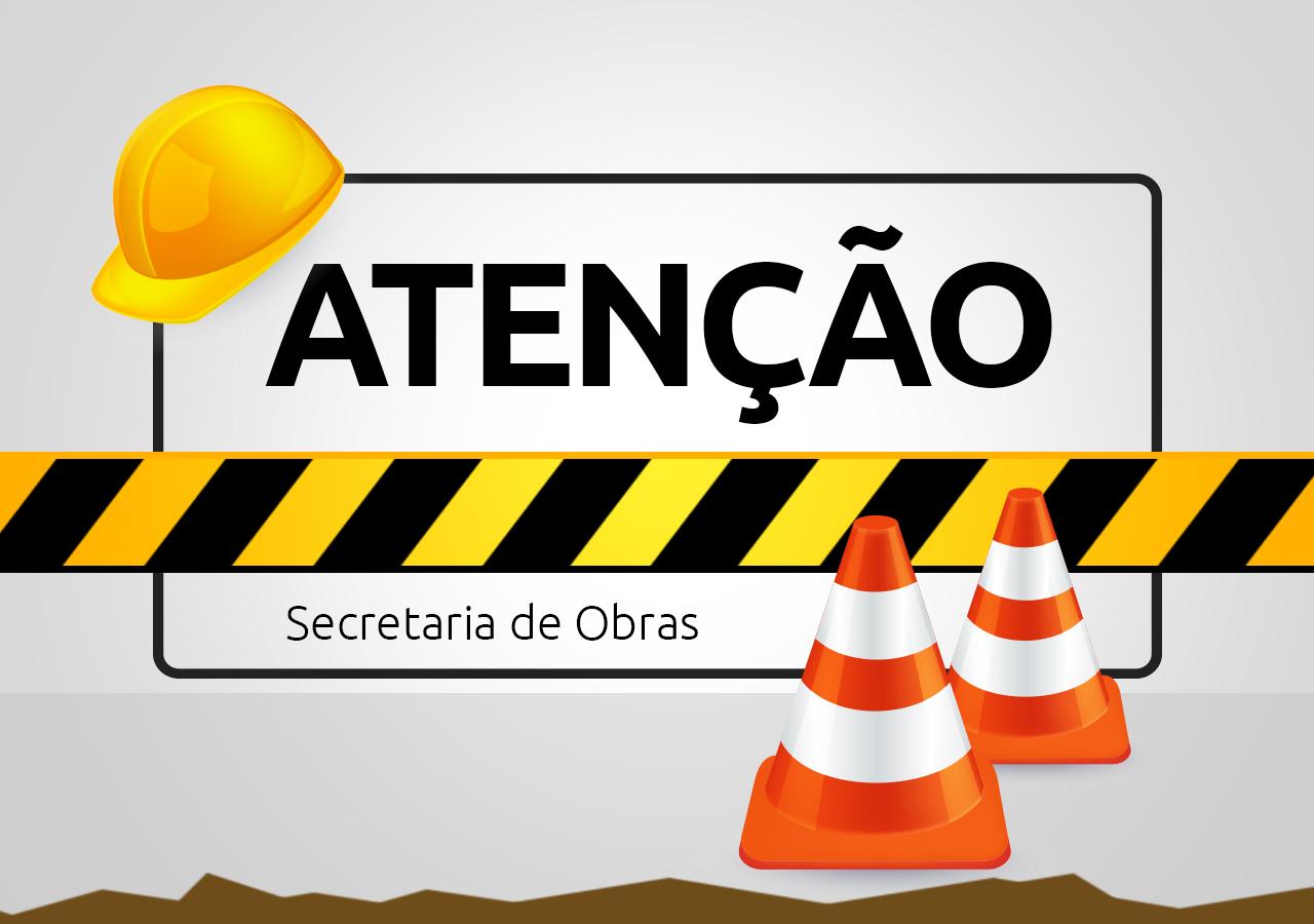 Rua Poço Fundo passa por detonação de laje