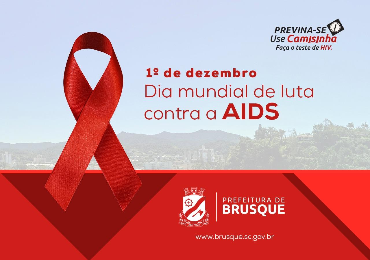 Dia Mundial de Luta contra Aids: Brusque possui mais de 900 pacientes infectados com HIV