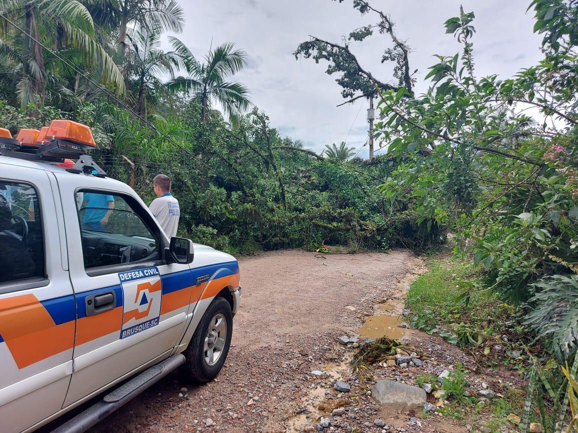 Defesa Civil não registra grandes incidentes de madrugada