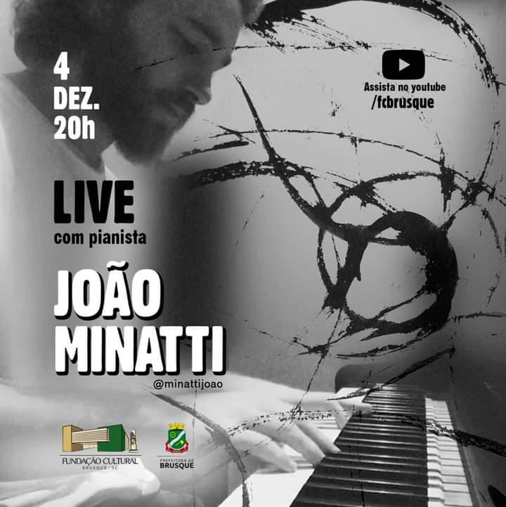 Fundação Cultural realiza live com músico local na sexta-feira (4)