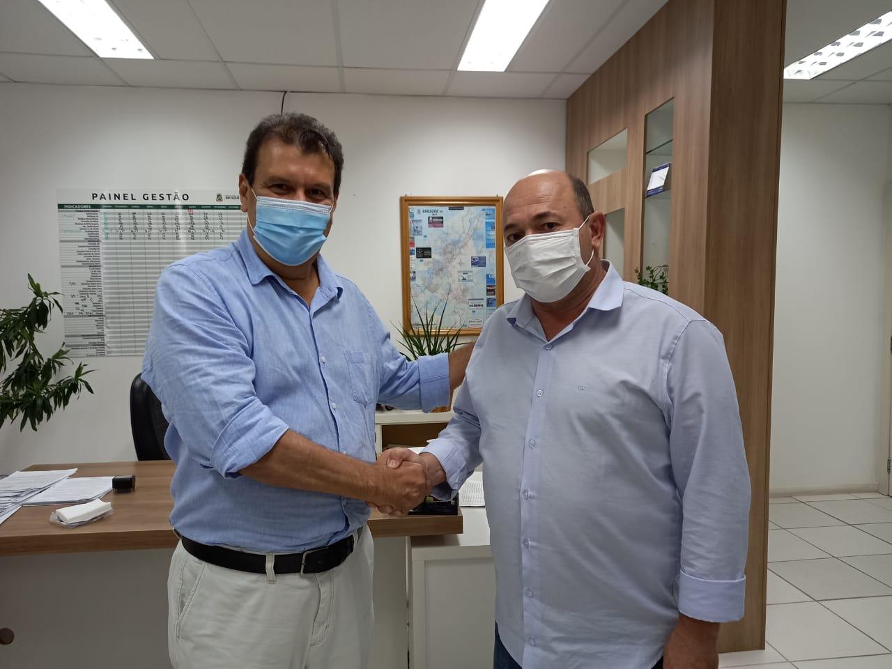 Iniciada a transição de governo na secretária de Saúde de Brusque