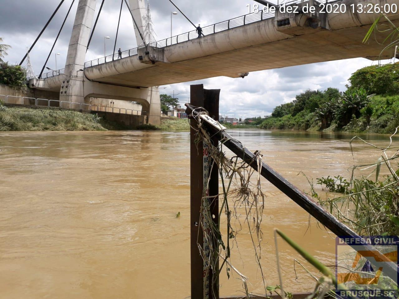Trânsito já está normalizado em Brusque e região após as chuvas