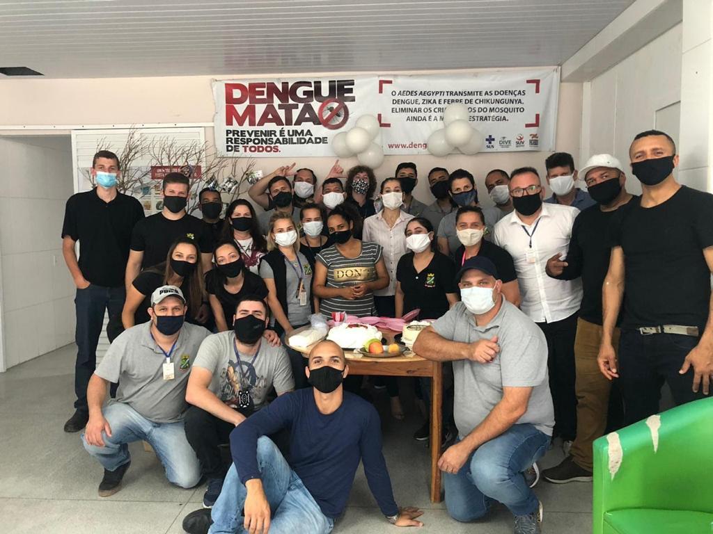 Equipe do Programa de Combate a Endemias realiza ação para ajudar a Laurinha