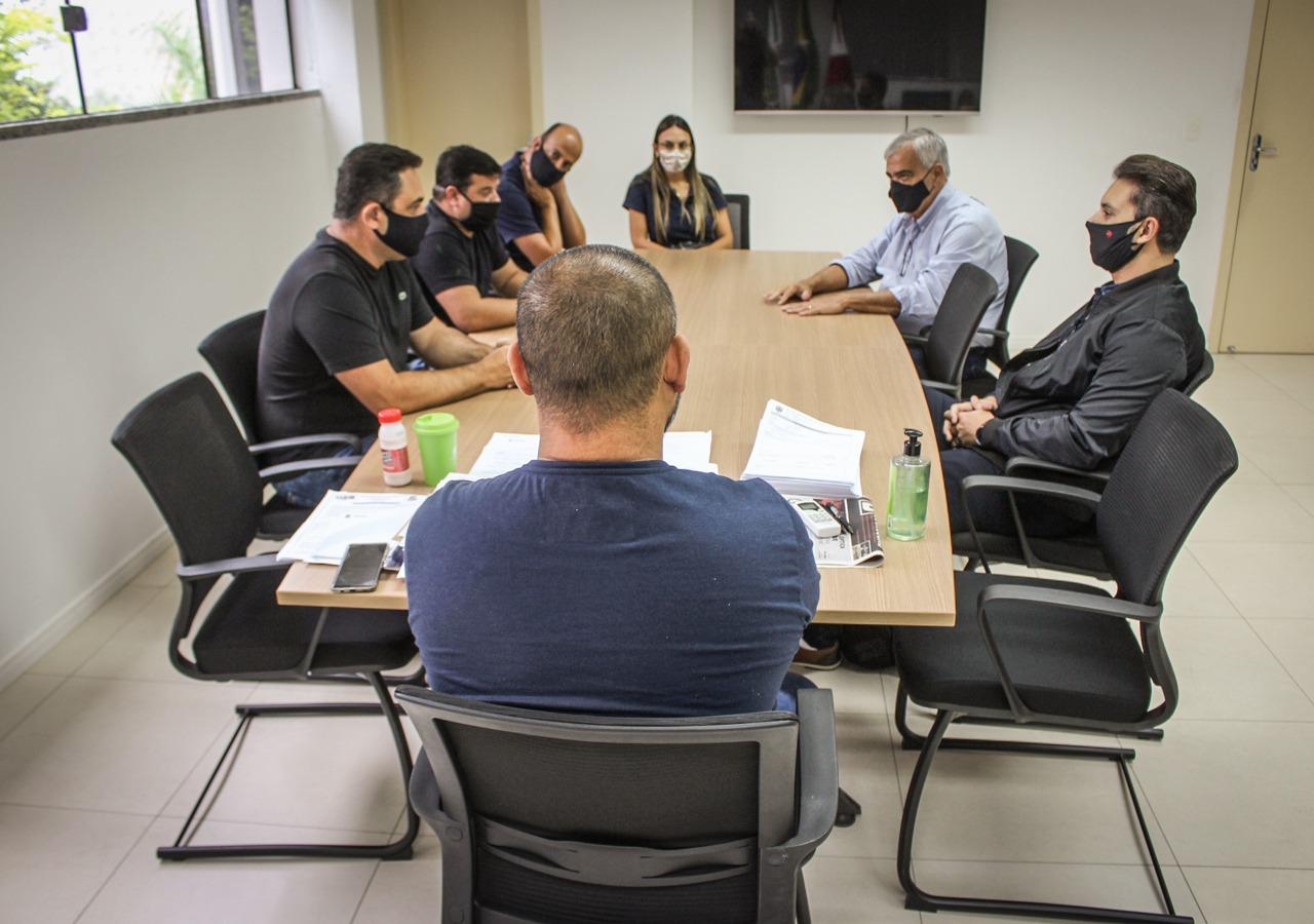 Secretários municipais de Navegantes fazem benchmarking no Samae Brusque
