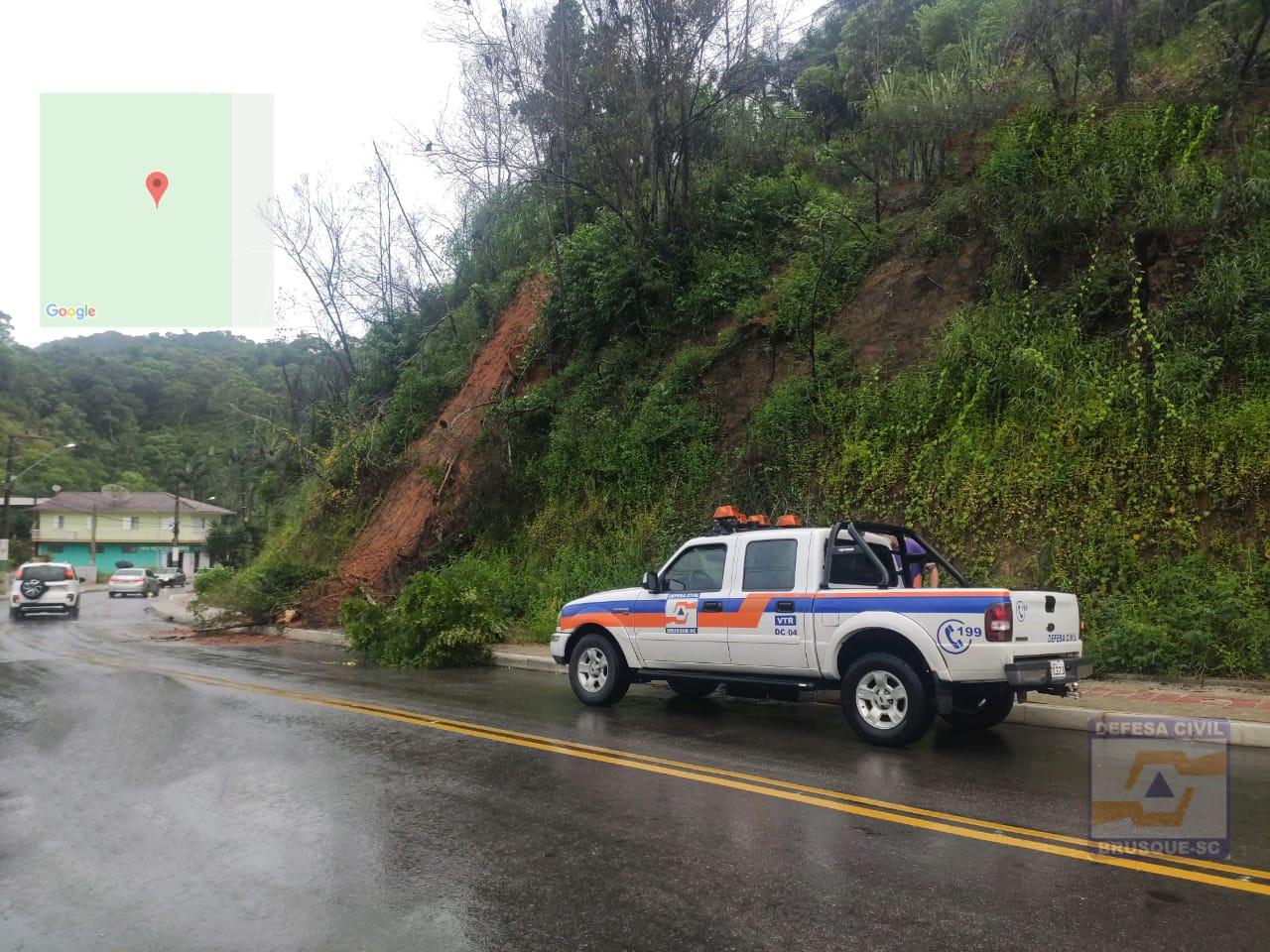 Número de ocorrências atendidas pela Defesa Civil em função das chuvas sobe para 47