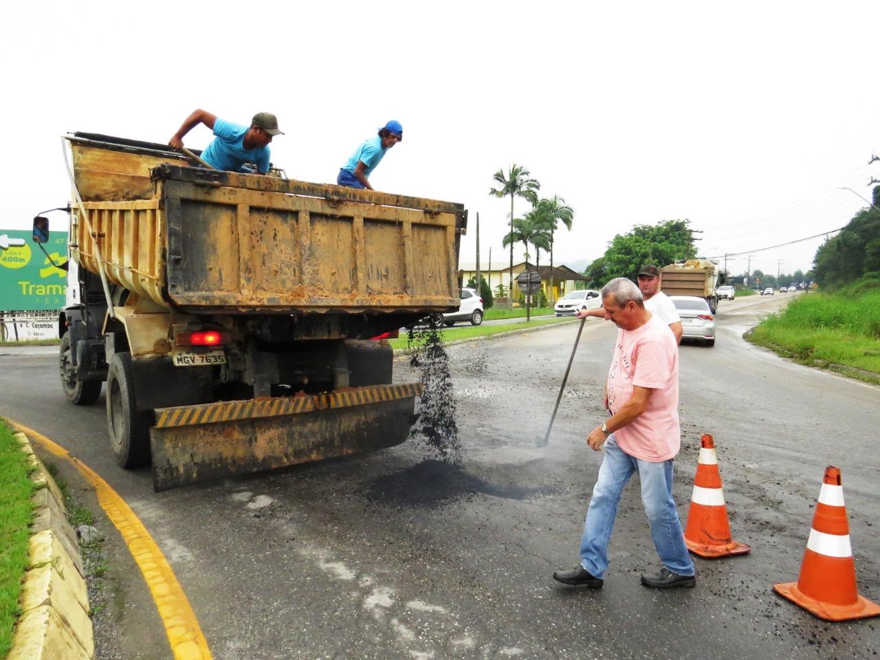 Secretaria de Obras intensifica atividades após as chuvas