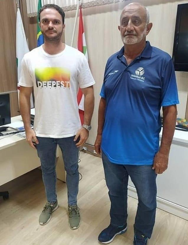 FME e Federação Catarinense de Voleibol sinalizam parceria