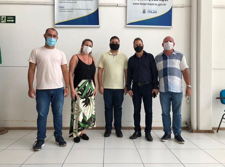 Gestores do Desenvolvimento Social e Esap realizam visita técnica em Itajaí