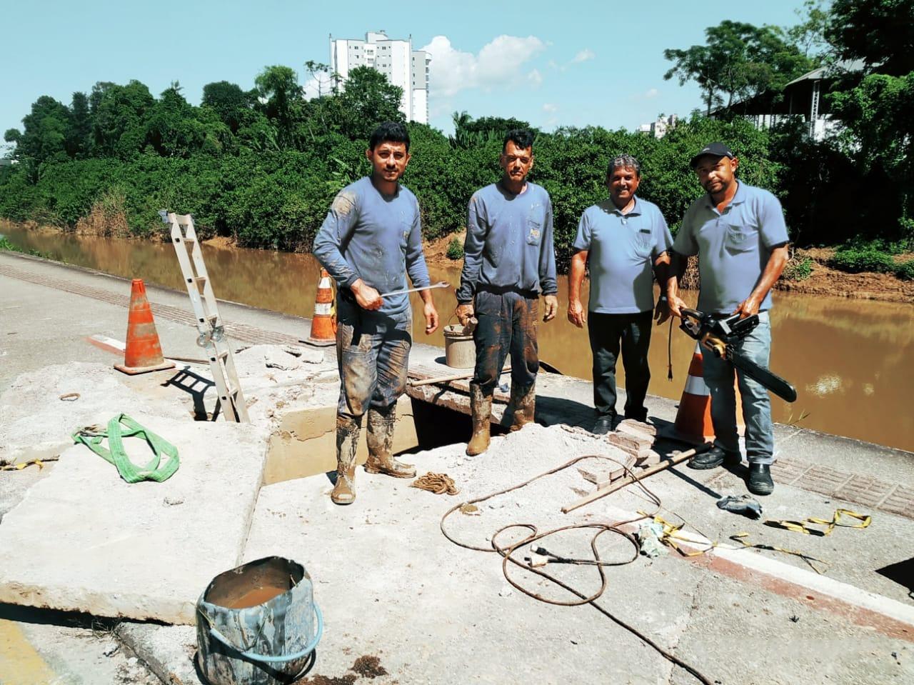 Samae realiza parada programada para conserto em rede subaquática