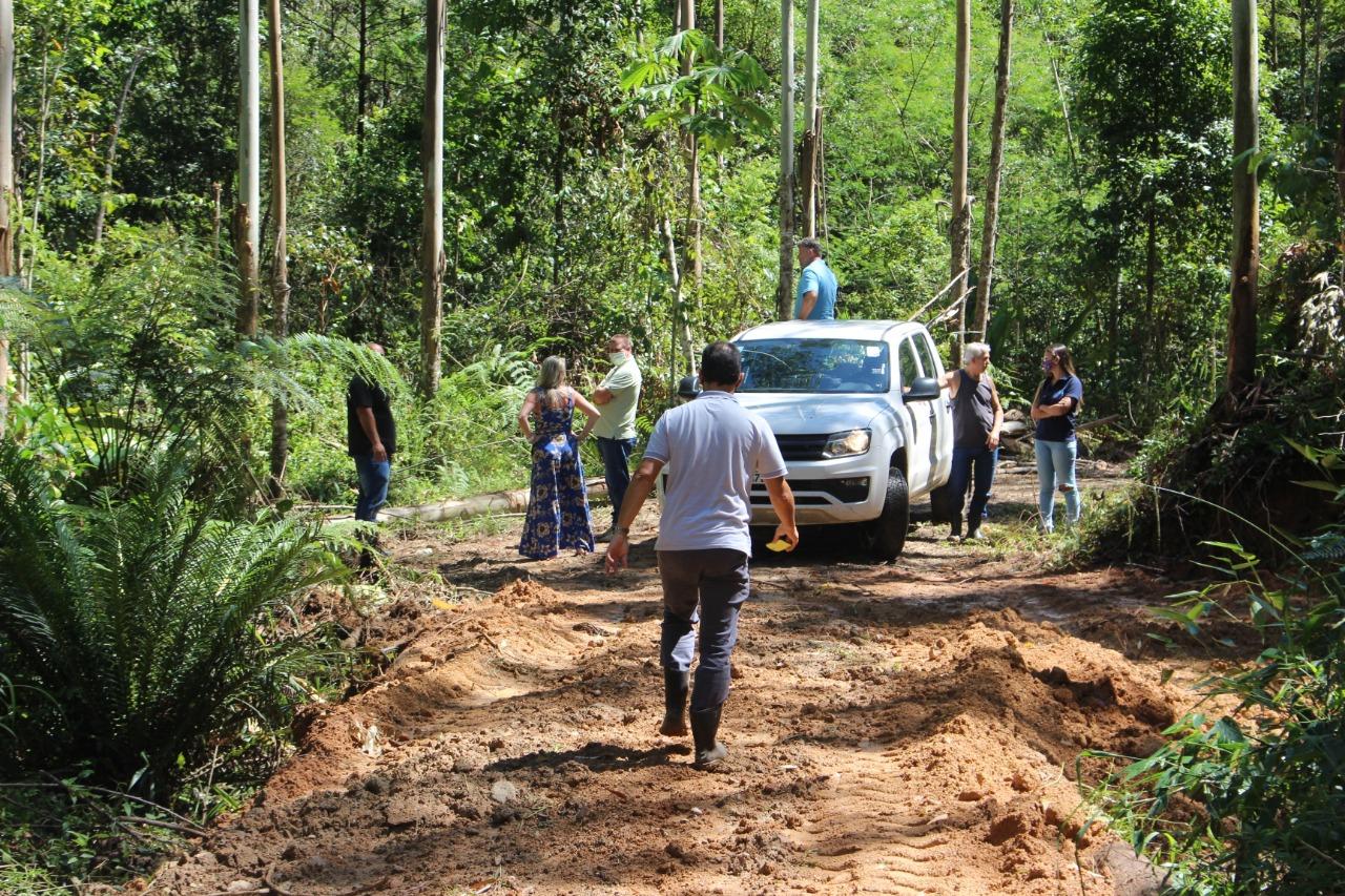 Samae e Fundema verificam denúncias em área rural no Zantão