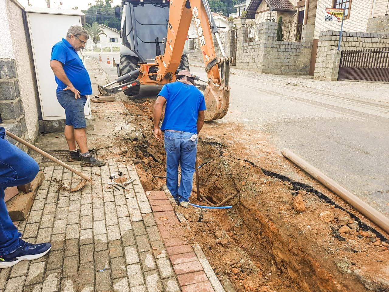 Neste domingo, 21, Samae realiza última etapa de obra no bairro Guarani
