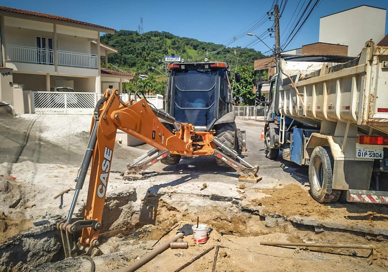 Samae finaliza expansão de rede nas ruas Gabriel Siegel e João Siegel