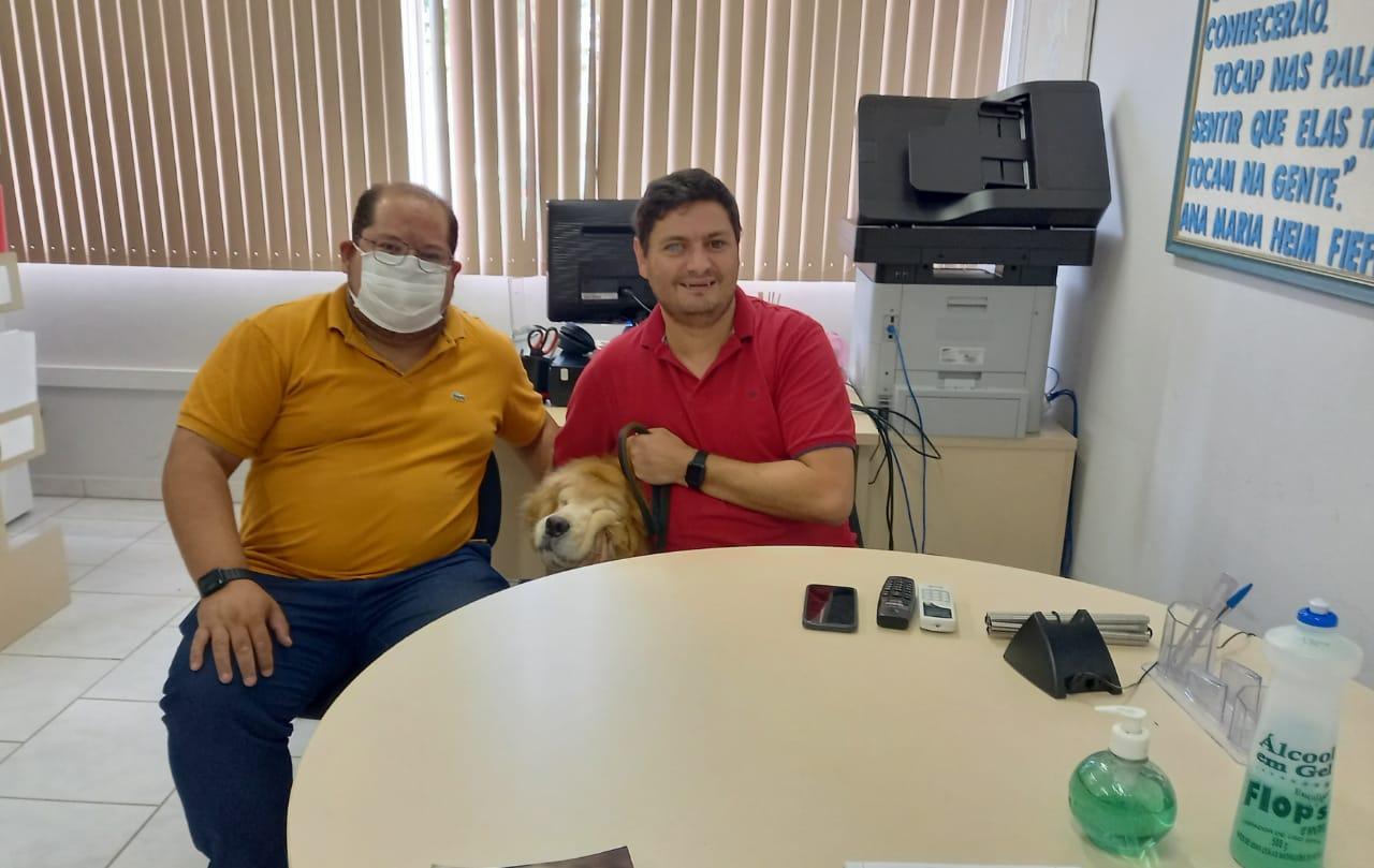 Sine Brusque faz parceria com Associação dos Deficientes Visuais