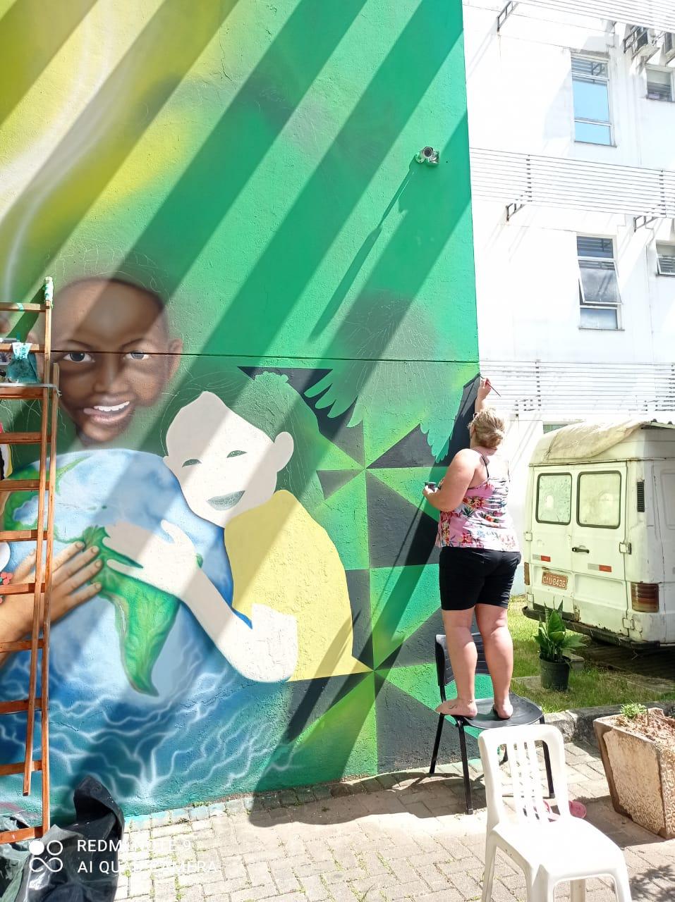 Lei Aldir Blanc: Arte urbana pode ser apreciada na Fundação Cultural