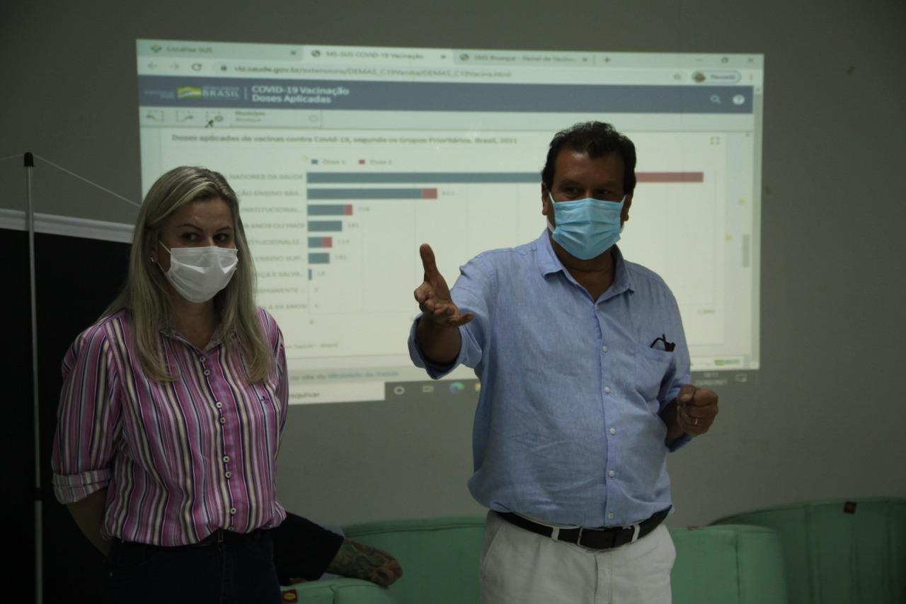 Prefeitura de Brusque apresenta ações da vacinação da Covid-19