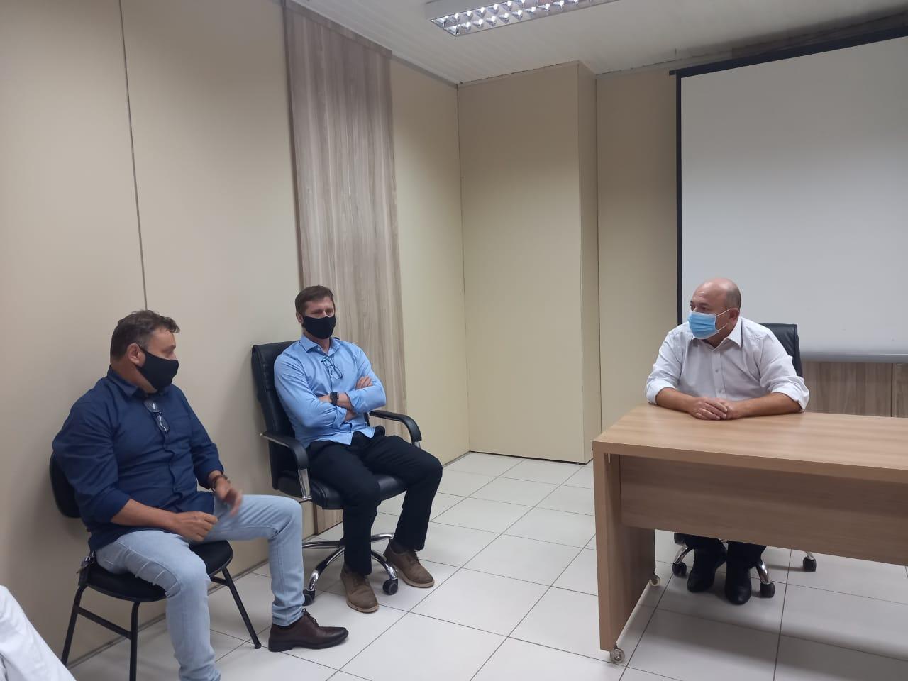 Secretário de Desenvolvimento Econômico de Lucas de Rio Verde, Paulo Franz, visita Brusque