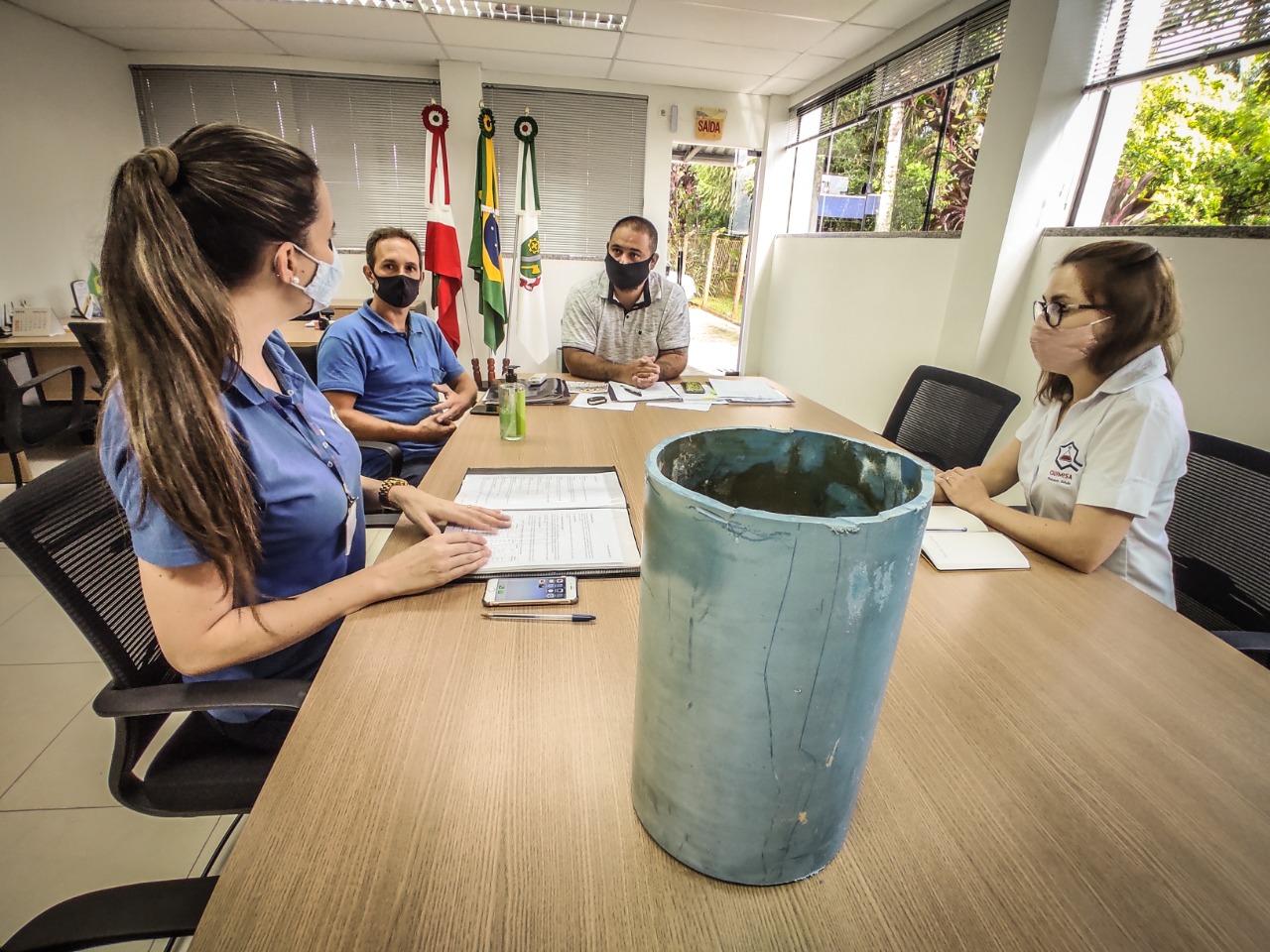 Samae discute novas tecnologias para amenizar ocorrências de água turva