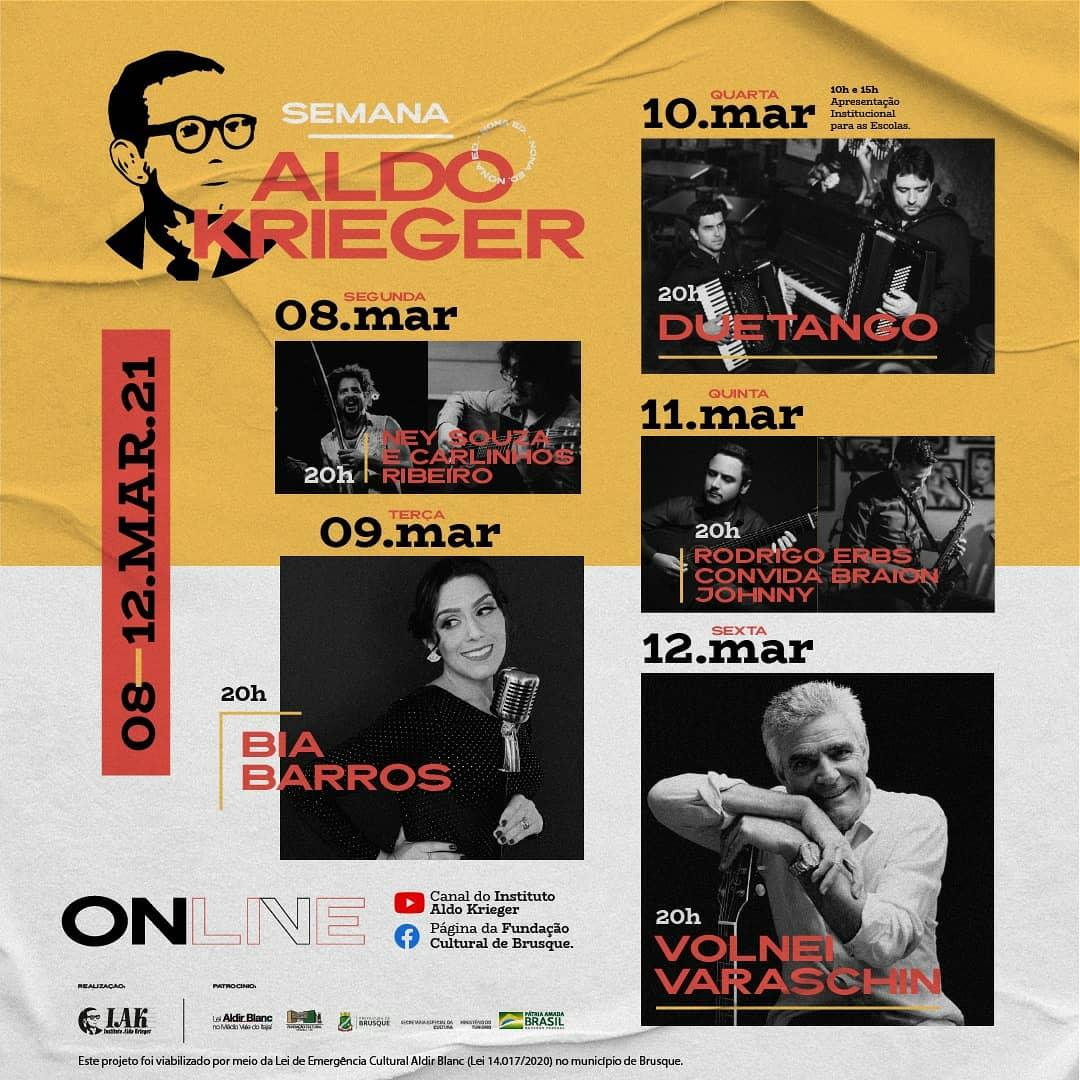 9ª Semana Aldo Krieger inicia segunda-feira (8)