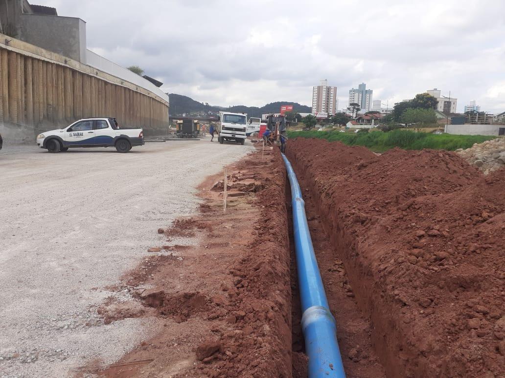 Manobra de rede feita pelo Samae aumenta pressão de água para Steffen e Bateas