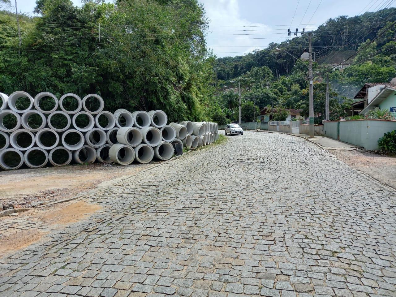 Rua Guilherme Steffen ganha obra de drenagem e terá a via fechada nesta segunda (22)