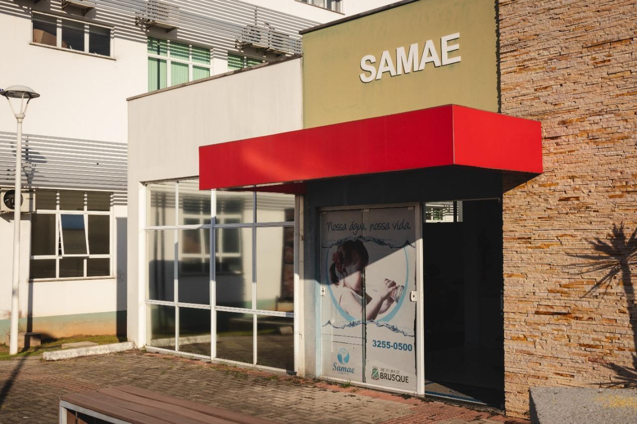 Ponto de atendimento do Samae na Praça da Cidadania será sanitizado