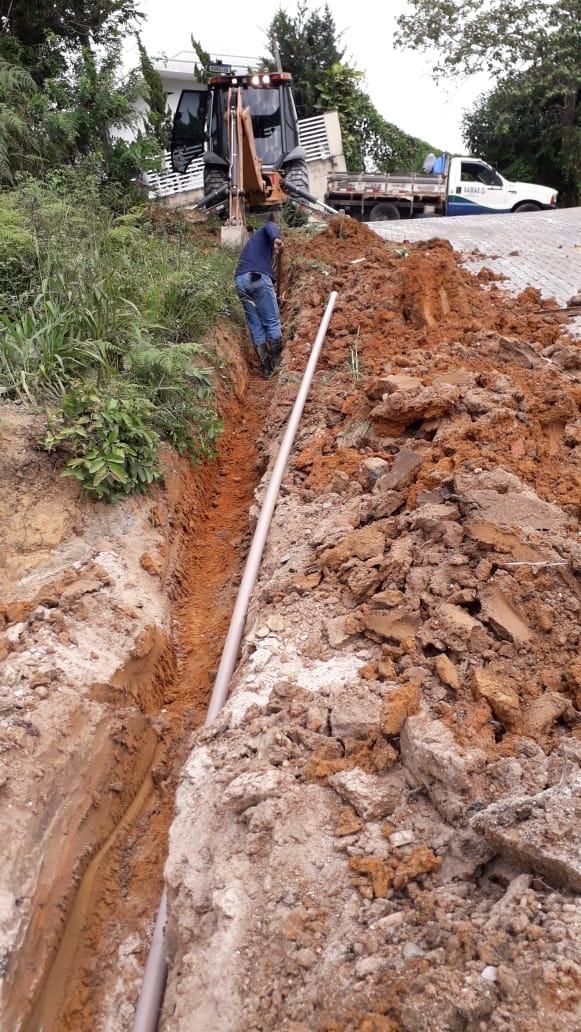 Samae faz melhoria de rede na região do bairro Tomaz Coelho