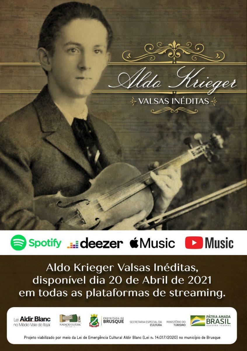 Lei Aldir Blanc: Projeto traz músicas inéditas do maestro Aldo Krieger