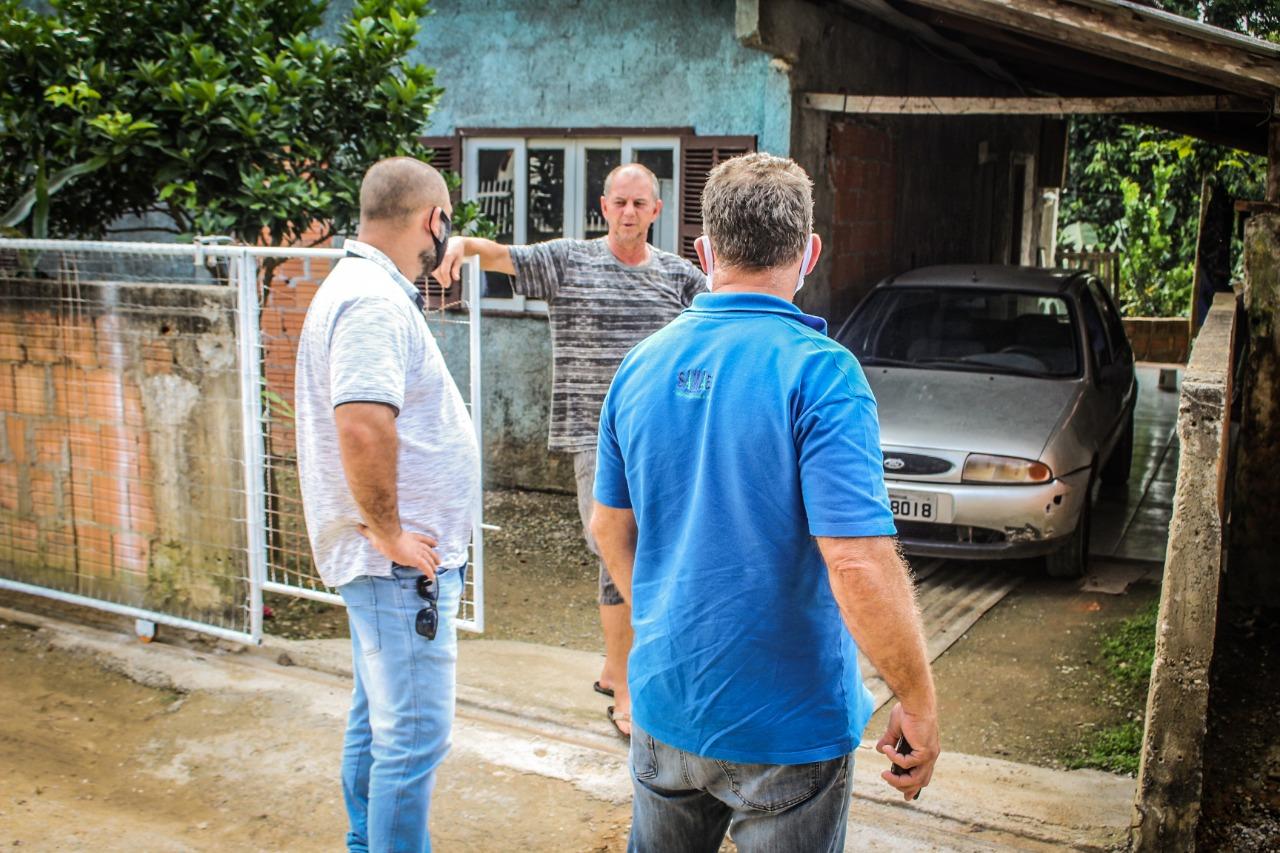 Samae estuda melhorias para AZ 04, uma das ruas mais altas de Brusque