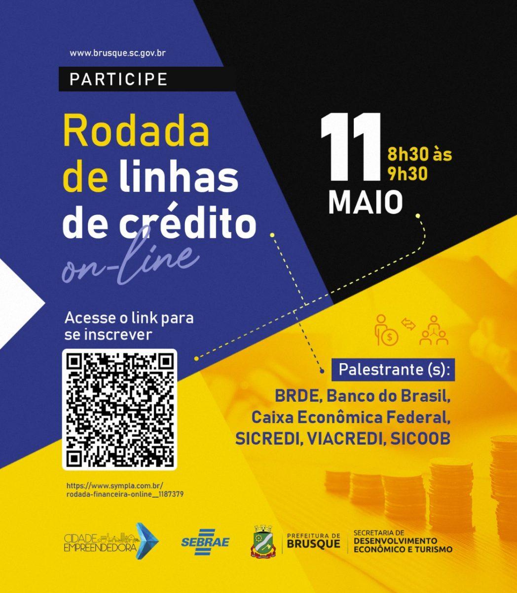 Prefeitura de Brusque e Sebrae promovem Rodada Financeira Online