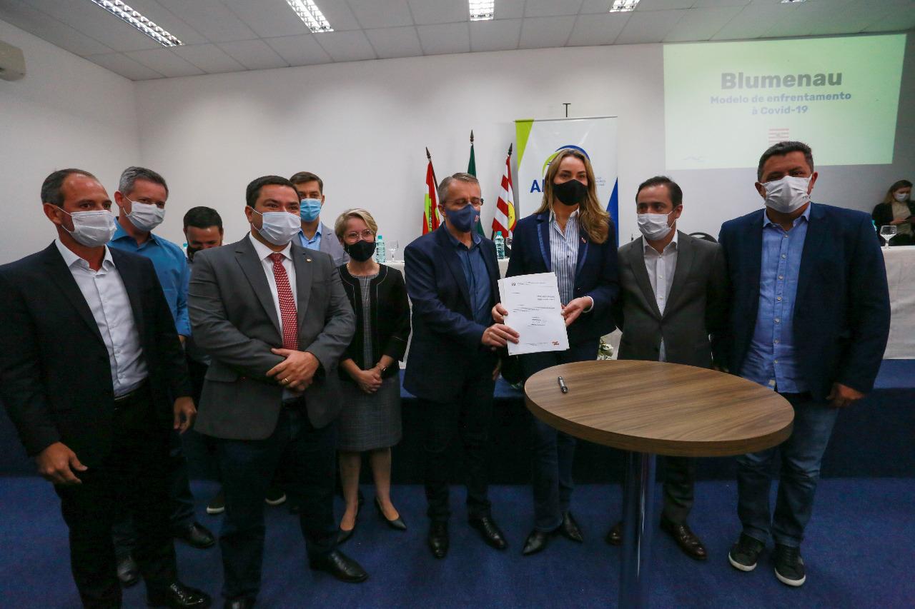 Brusque recebe mais de R$ 800 mil de emendas parlamentares