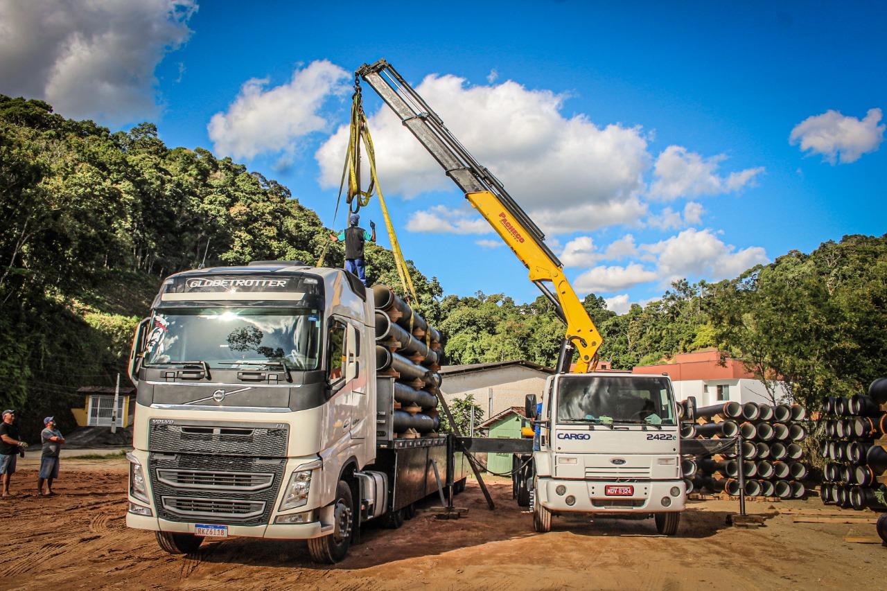 A logística por detrás da maior obra do Samae nos últimos anos