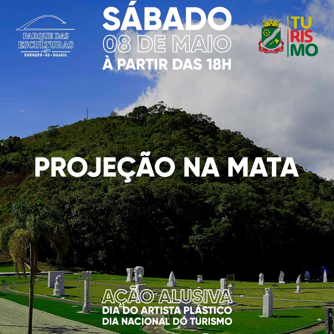 Ação no Parque das Esculturas comemora Dia do Turismo e do Artista Plástico