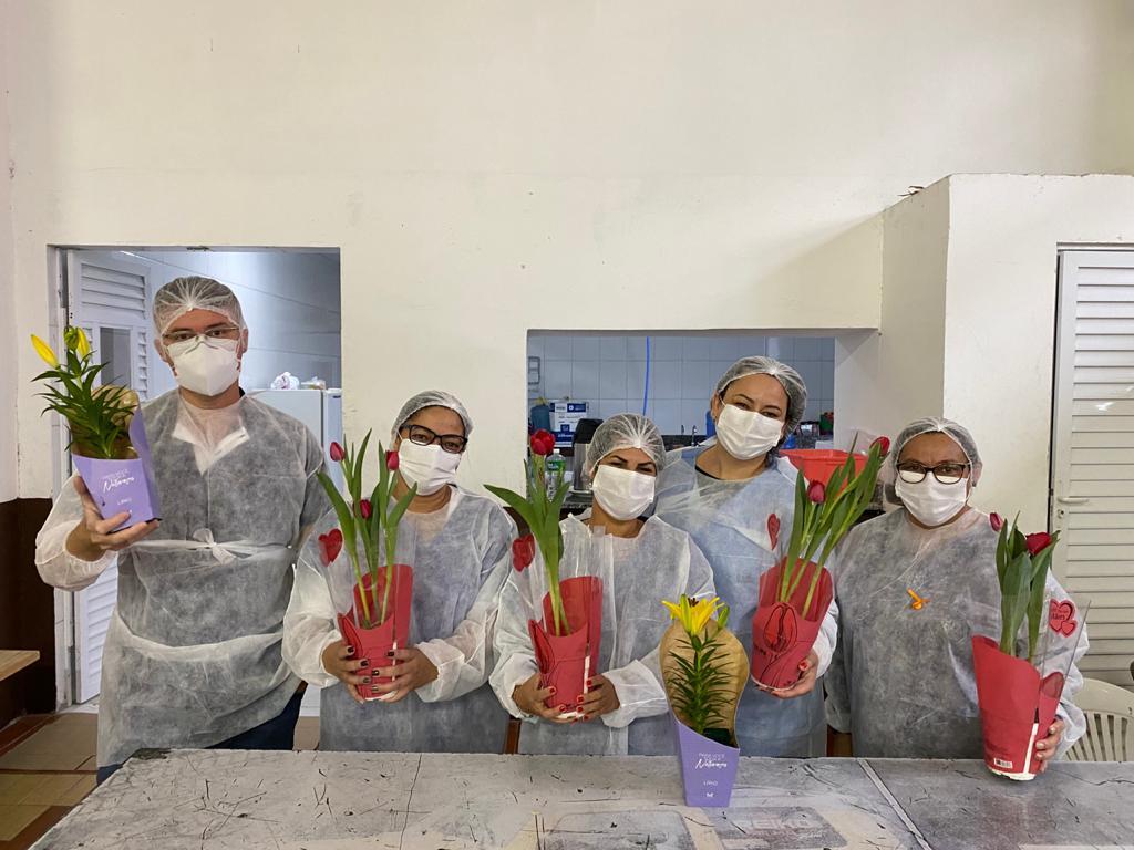 Secretaria de Saúde de Brusque homenageia os Enfermeiros