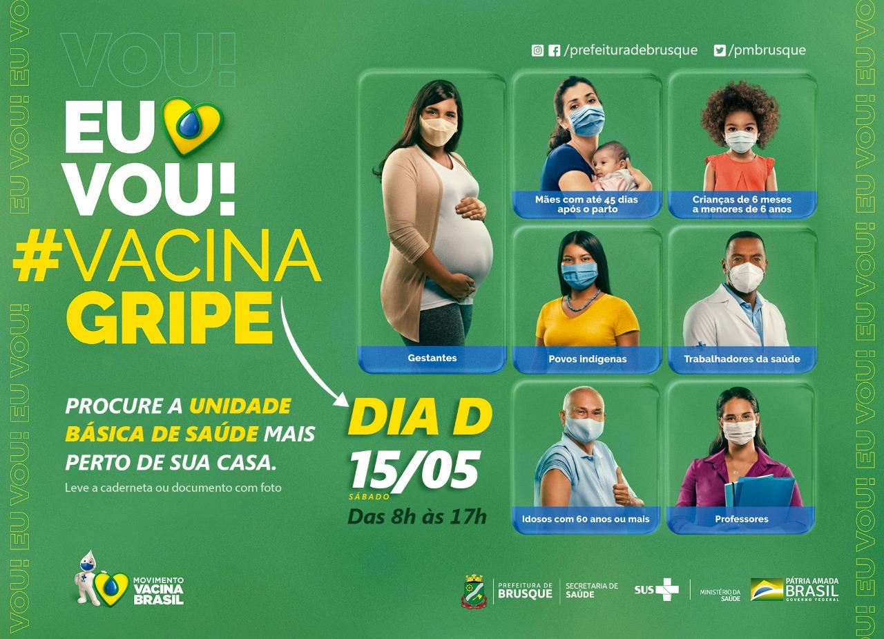 Sábado é o 'Dia D' da Campanha de Vacinação contra a Gripe