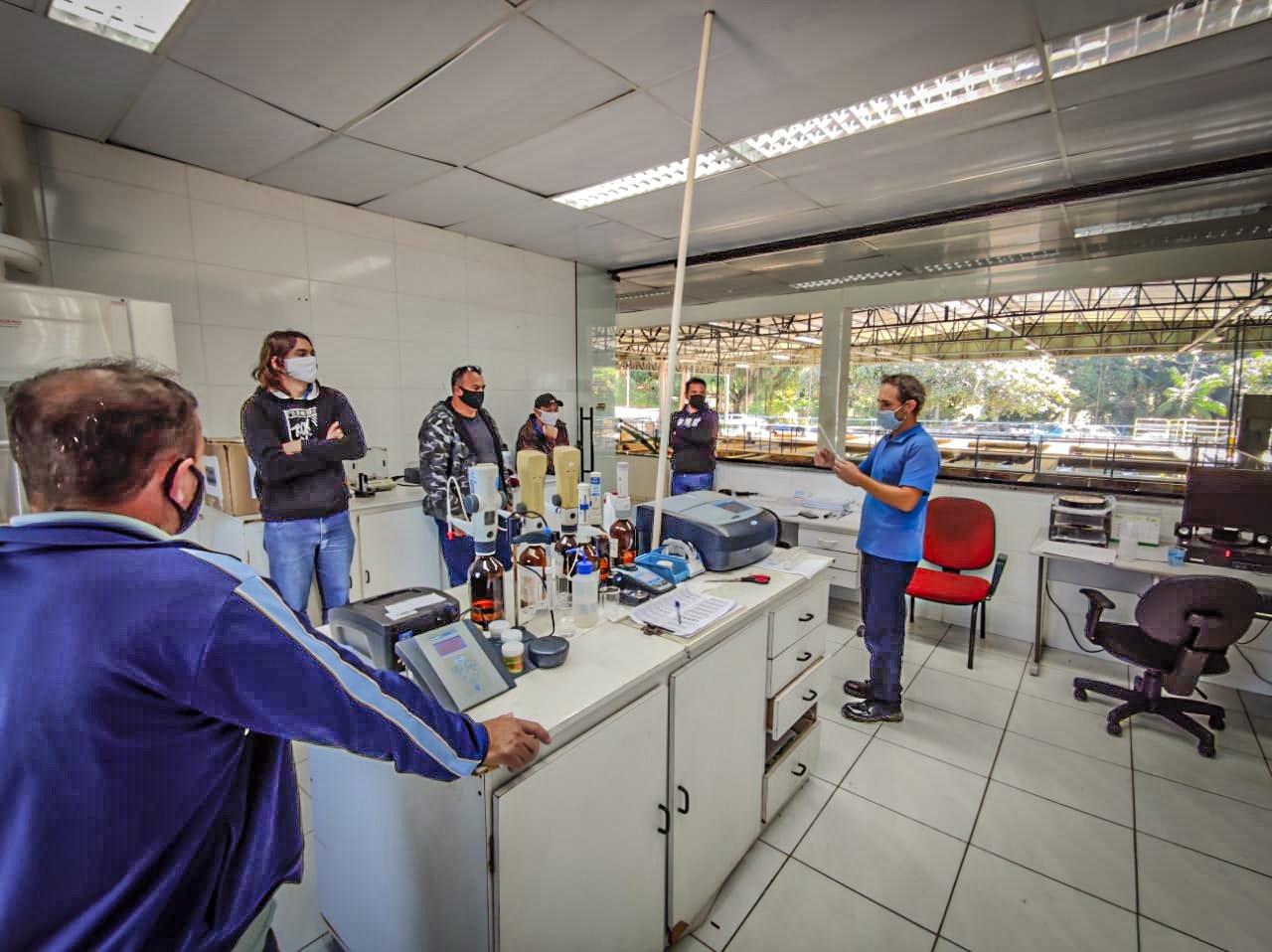 Samae sedia capacitação sobre recebimento de produtos químicos