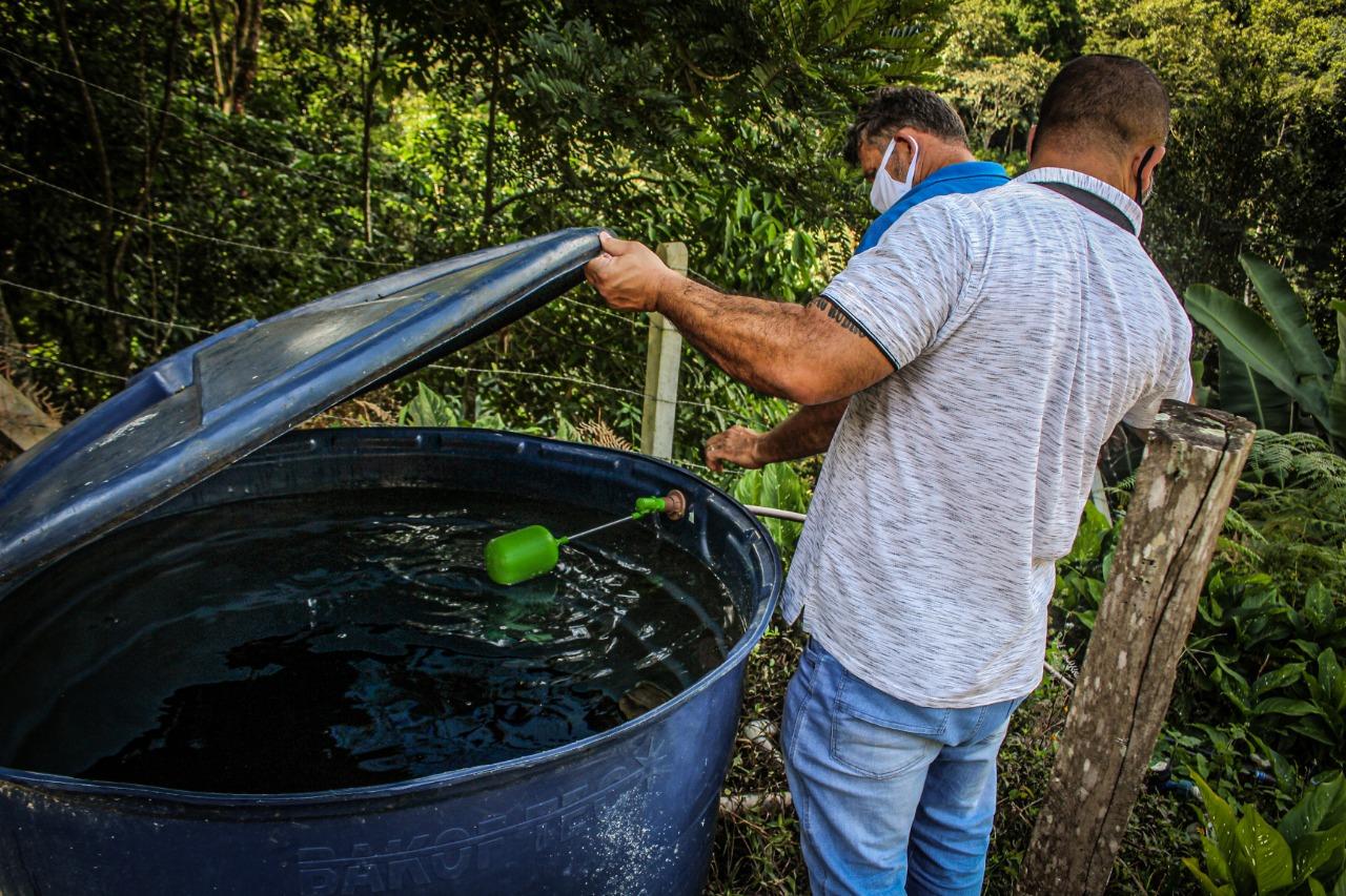 Samae Brusque ressalta importância de limpeza de caixas d'água