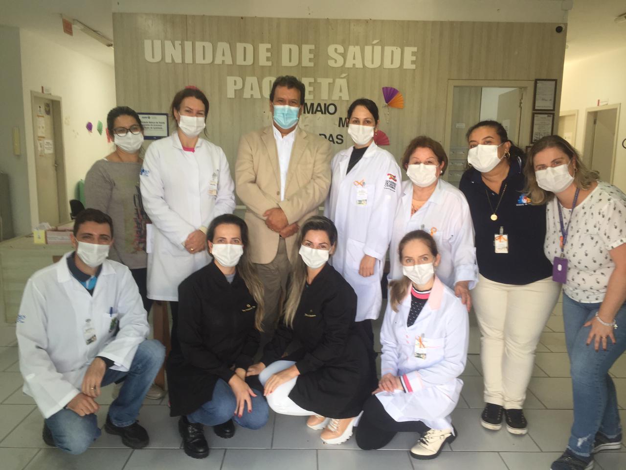 Secretário de Saúde visita Unidades Básicas