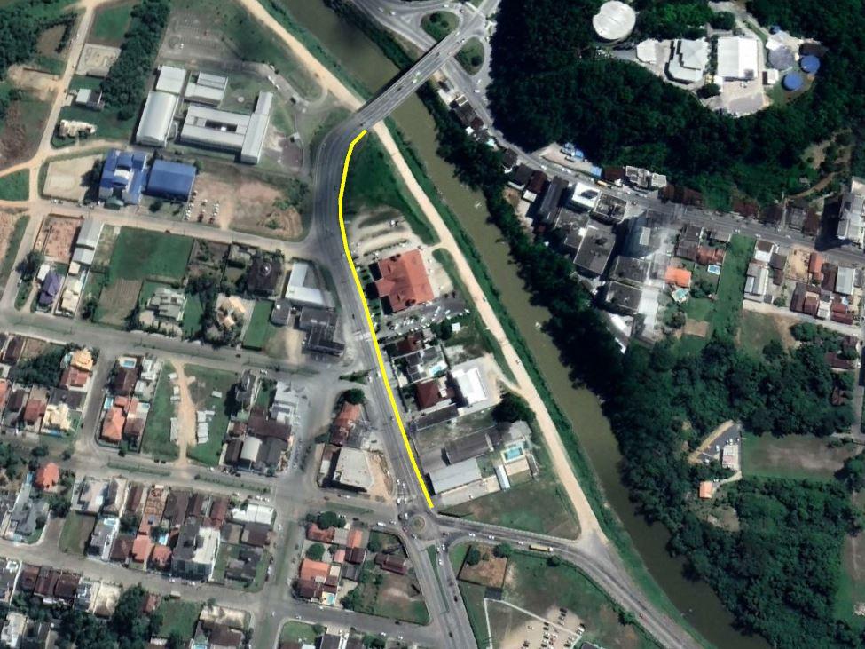 Água: expansão de rede deixa avenida Hugo Schlosser em meia pista na segunda, 24