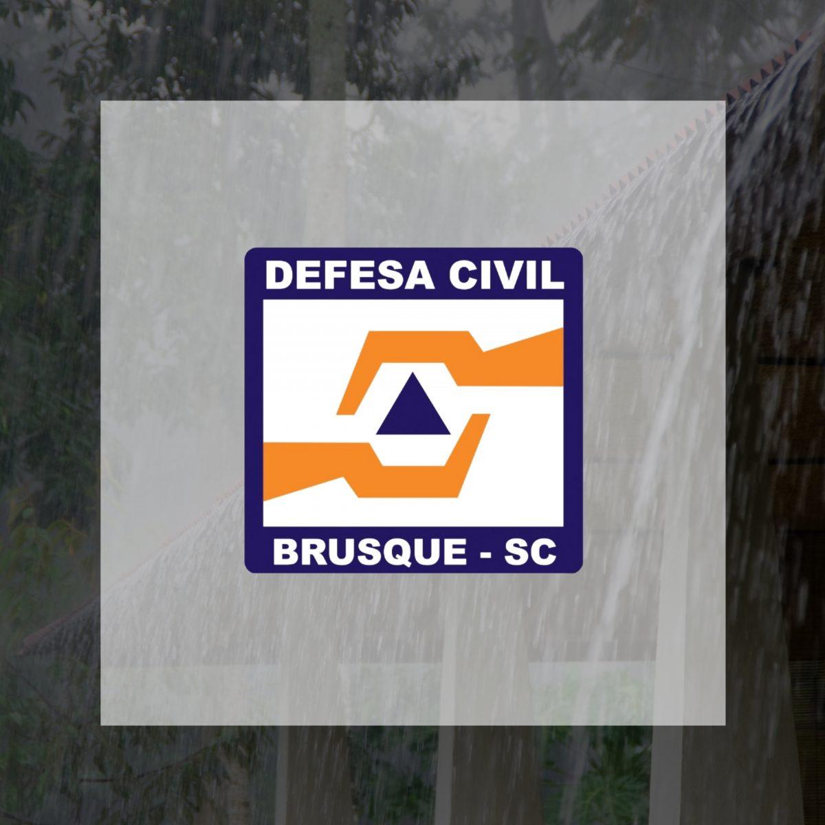 Defesa Civil alerta para possível ocorrência de chuva intensa
