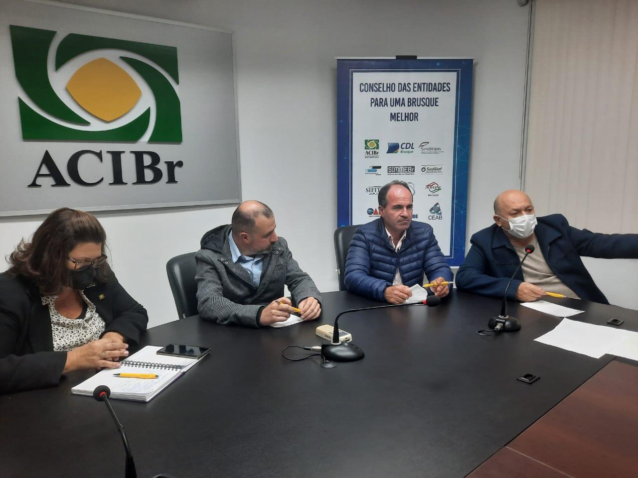 Novo acesso Brusque / Guabiruba é discutido na Acibr